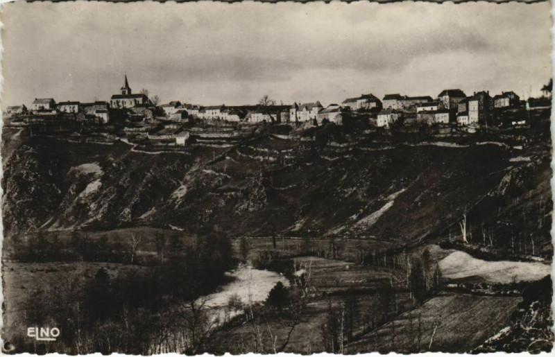 Carte postale ancienne Chaliers vue panoramique France à Chaliers