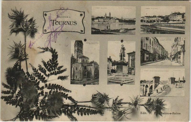 Carte postale ancienne Tournus à Tournus