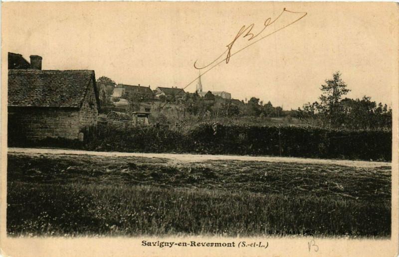 Carte postale ancienne Savigny-en-Revermont à Savigny-en-Revermont