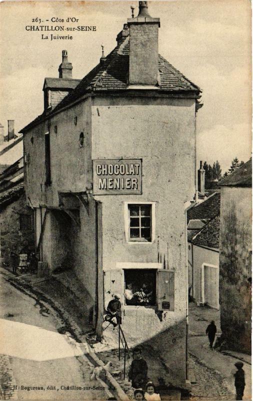 Carte postale ancienne Chatillon-sur-Seine La Juiverie à Châtillon-sur-Seine