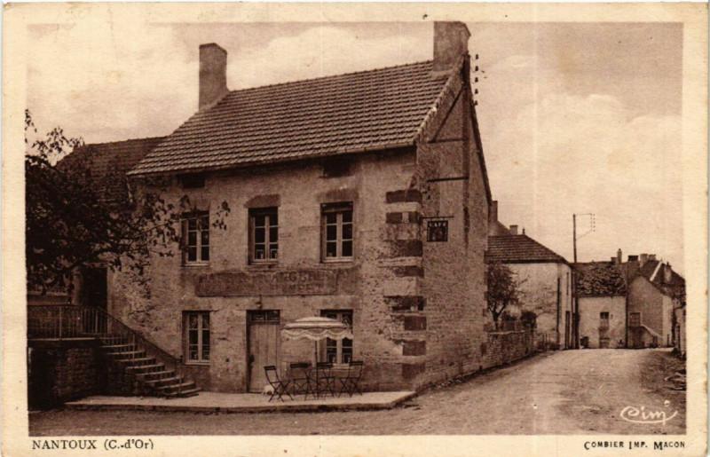 Carte postale ancienne Nantoux (C.-d'Or) à Nantoux