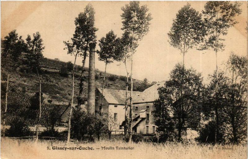 Carte postale ancienne Gissey-sur-Ouche - Moulin Tainturier à Gissey-sur-Ouche