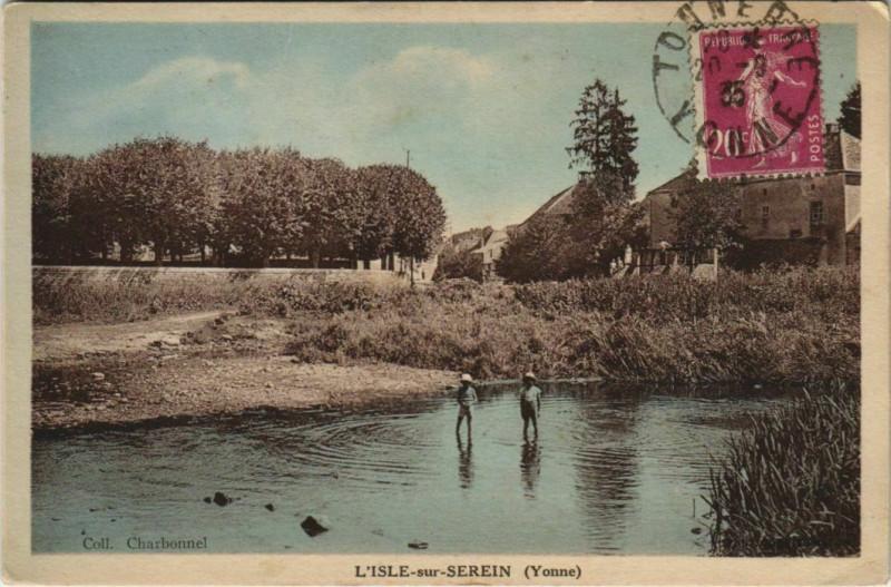 Carte postale ancienne L'Isle-sur-Serein à L'Isle-sur-Serein
