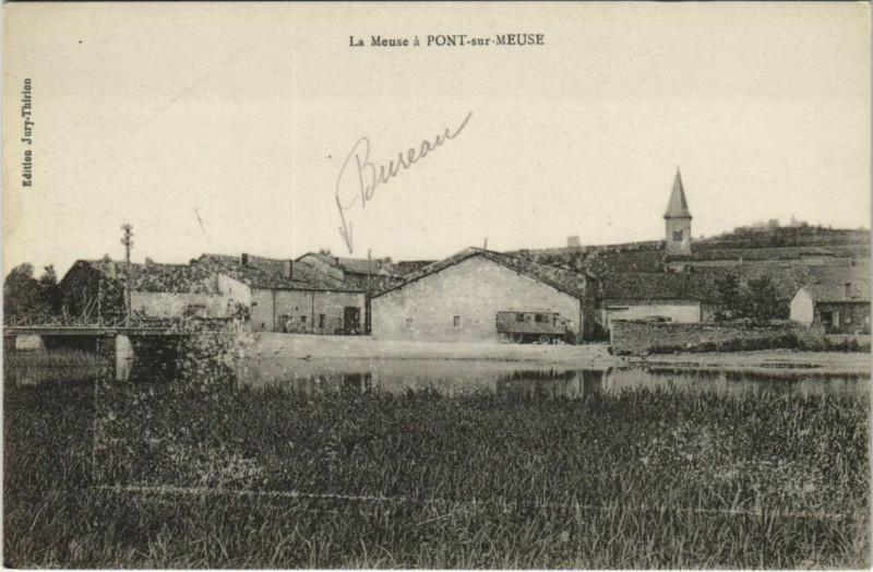 Carte postale ancienne Pont-sur-Meuse à Pont-sur-Meuse