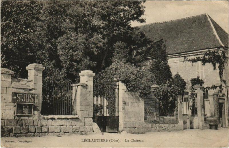 Carte postale ancienne Leglantiers - Le Chateau à Léglantiers