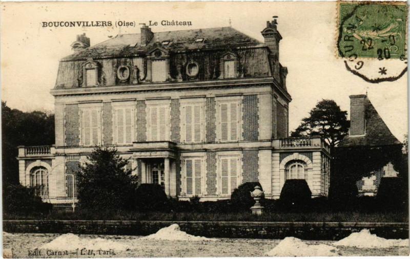 Carte postale ancienne Bouconvillers - Le Chateau à Bouconvillers