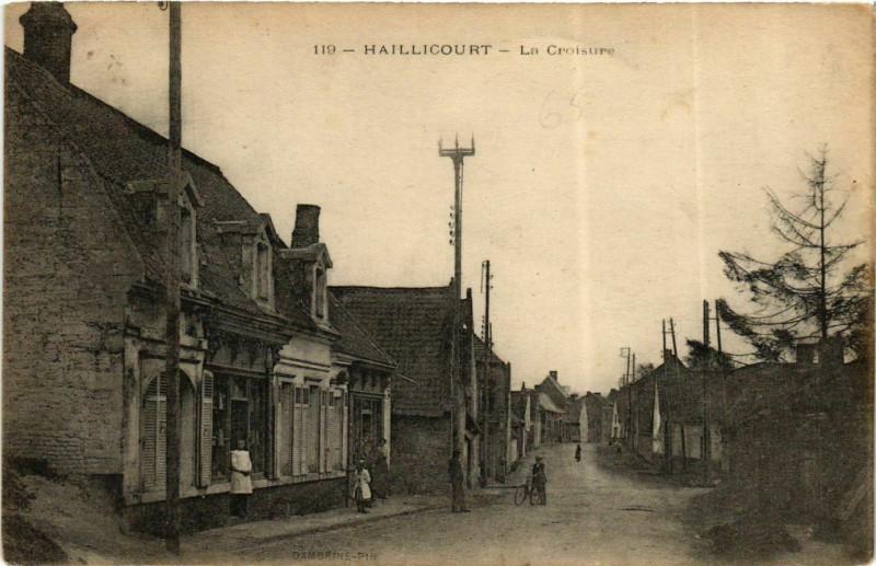 Carte postale ancienne Haillicourt - La Croisures à Haillicourt