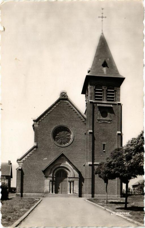 Carte postale ancienne Loos-en-Gohelle l'Eglise à Loos-en-Gohelle