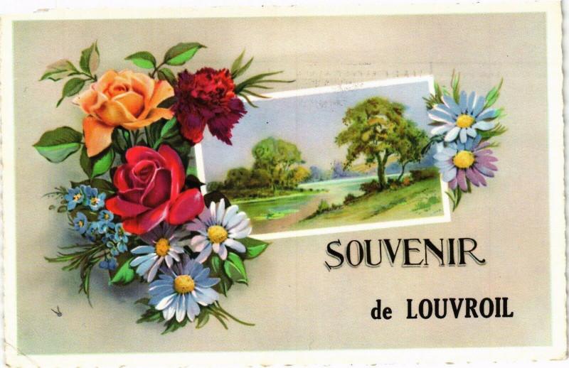 Carte postale ancienne Souvenir de Louvroil à Louvroil