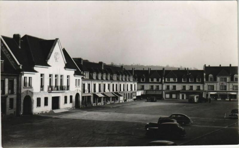 Carte postale ancienne Vimoutiers Libr. Pap. Couvet à Vimoutiers