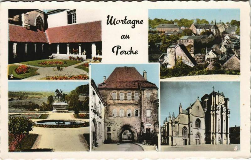 Carte postale ancienne Mortagne-au-Perche à Mortagne-au-Perche