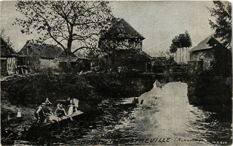Carte postale ancienne Pretreville - Moulin de Pretreville à Prêtreville