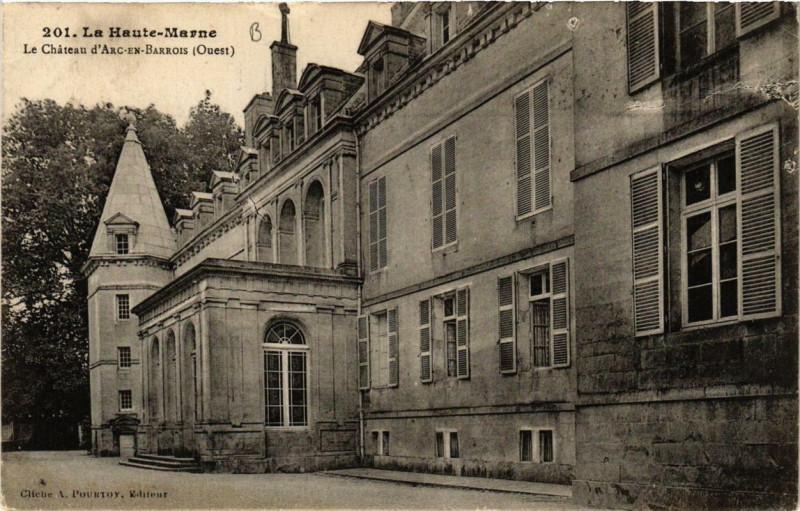 Carte postale ancienne La Haute-Marne Le Chateau d'Arc-en-Barrois à Arc-en-Barrois