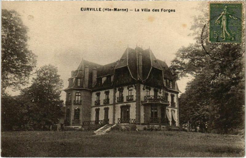 Carte postale ancienne Eurville - La Villa des Forges à Orges