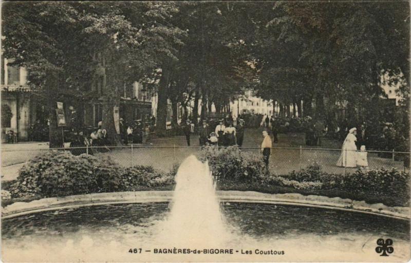 Carte postale ancienne Bagneres-de-Bigorre Les Coustous à Bagnères-de-Bigorre