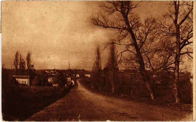 Carte postale ancienne Madiran - Quartier des Fours a chaux à Madiran