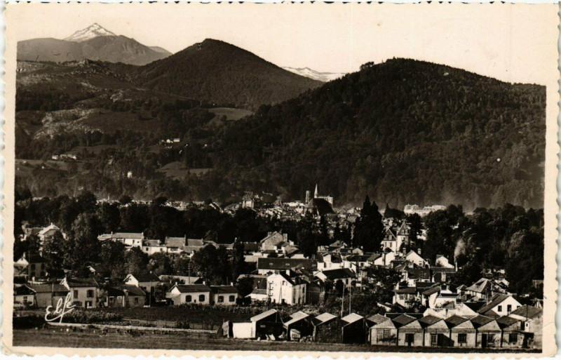 Carte postale ancienne Bagneres-de-Bigorre - Vué Générale à Bagnères-de-Bigorre