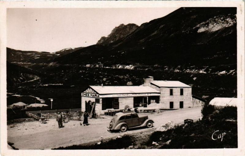 Carte postale ancienne Bagneres-de-Bigorre - La Mongie Refuge à Bagnères-de-Bigorre