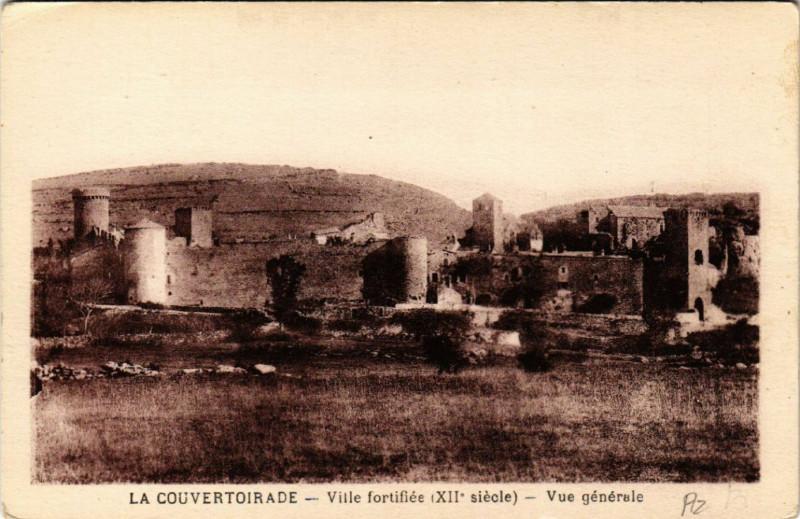 Carte postale ancienne La Couvertoirade - Ville forifiee à La Couvertoirade