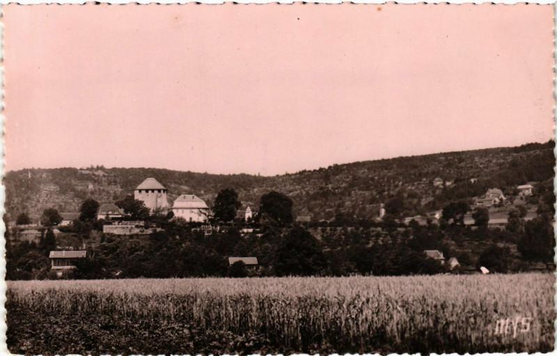 Carte postale ancienne Saint-Pierre-Toirac Lot - Vue générale à Saint-Pierre-Toirac