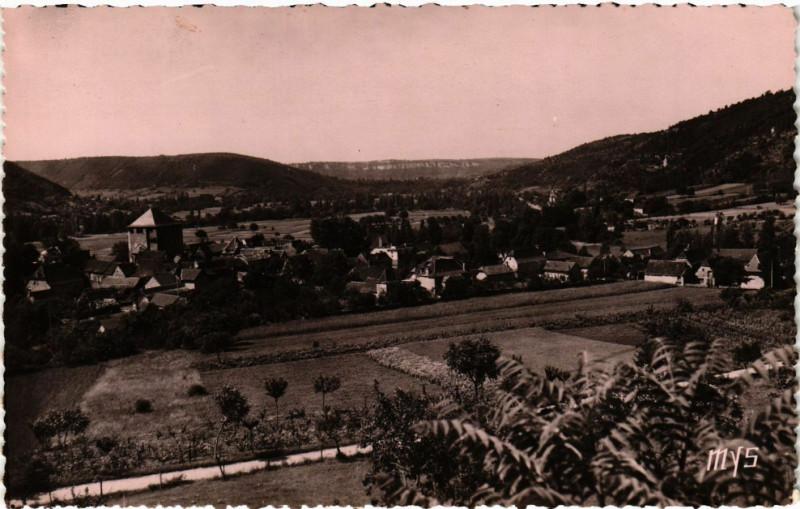 Carte postale ancienne Saint-Pierre Toirac - Vue générale à Saint-Pierre-Toirac