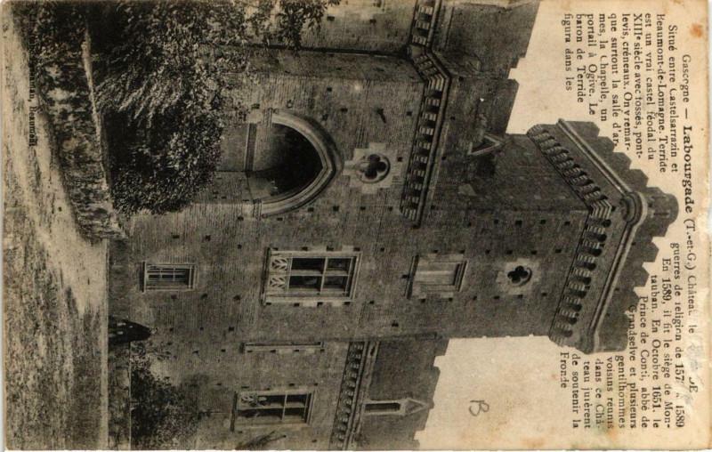 Carte postale ancienne Labourgade à Labourgade