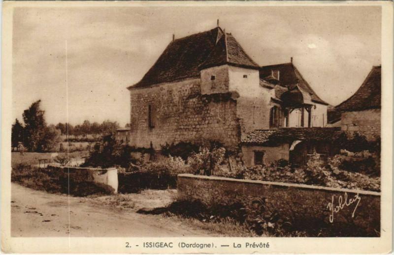Carte postale ancienne Issigeac - La Prevote à Issigeac