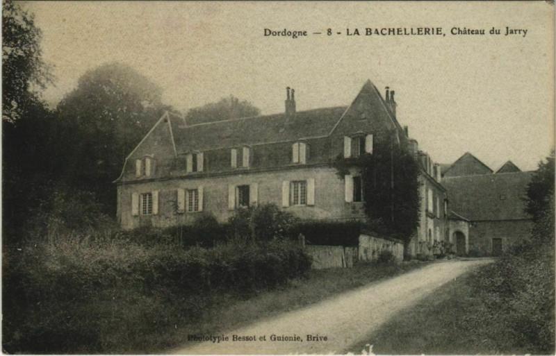 Carte postale ancienne La Bachellerie- Chateau du Jarry France à La Bachellerie