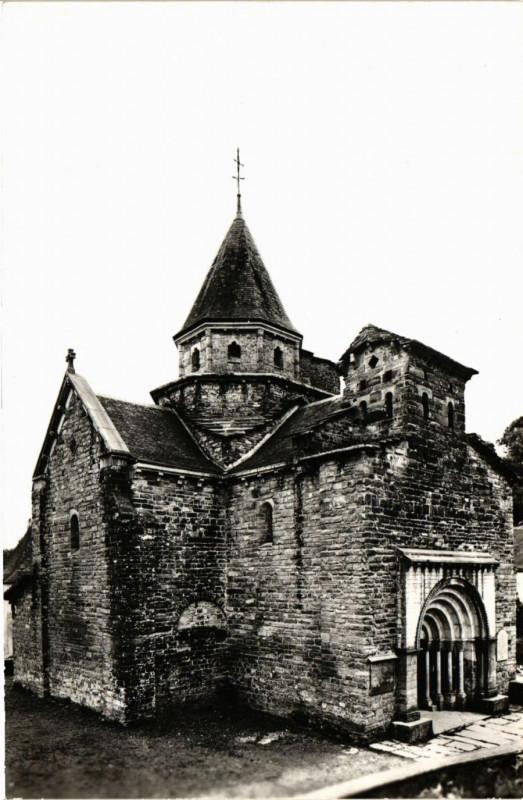 Carte postale ancienne L'Hopital-Saint-Blaise - Basque-Pyrenées - L'Eglise à L'Hôpital-Saint-Blaise