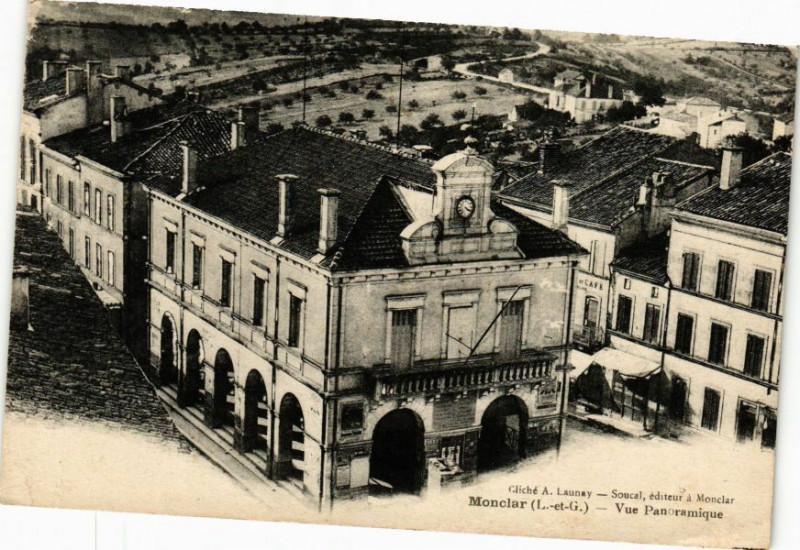Carte postale ancienne Monclar-Vue panoramique à Monclar