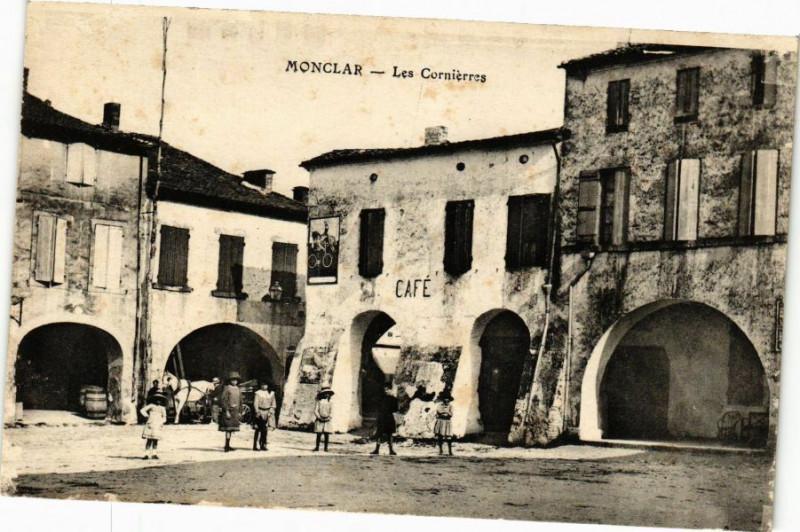 Carte postale ancienne Monclar-Les Cornierres à Monclar