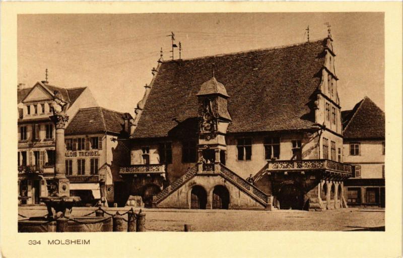 Carte postale ancienne Molsheim à Molsheim