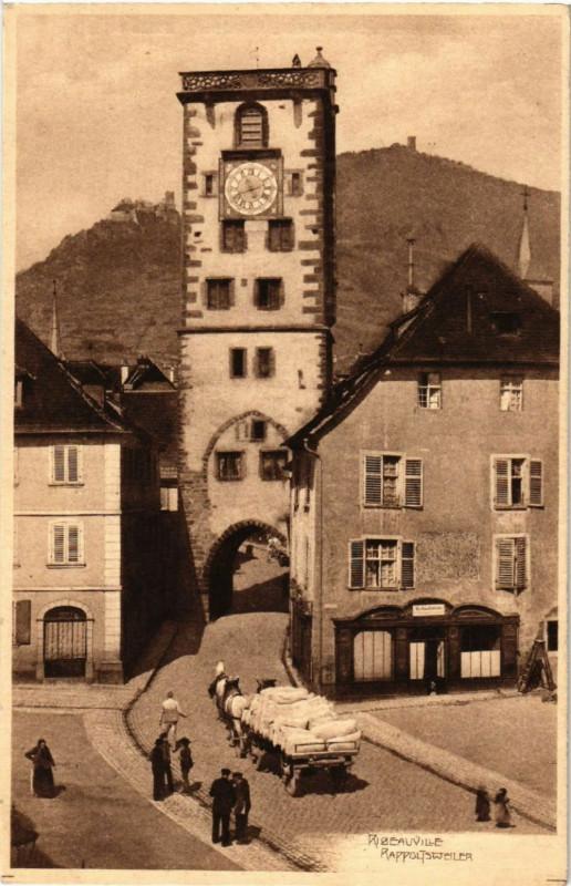 Carte postale ancienne Ribeauville à Ribeauvillé