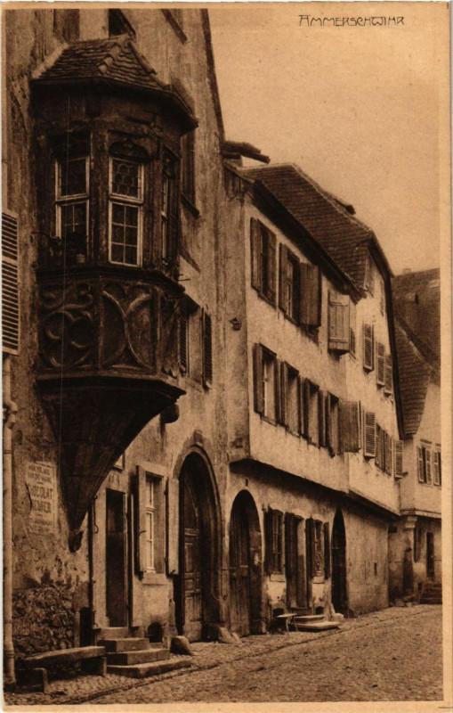 Carte postale ancienne Ammerschwihr à Ammerschwihr