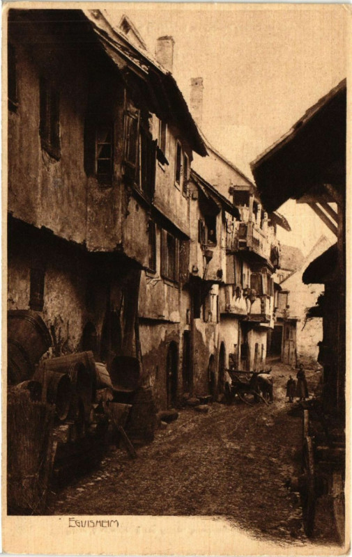 Carte postale ancienne Eguisheim à Eguisheim