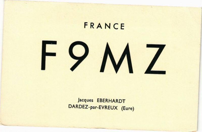 Carte postale ancienne France F 9 M Z Jacques Eberhardt - Dardez-par-Evreux à Dardez