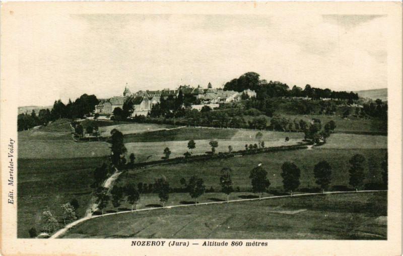 Carte postale ancienne Nozeroy à Nozeroy