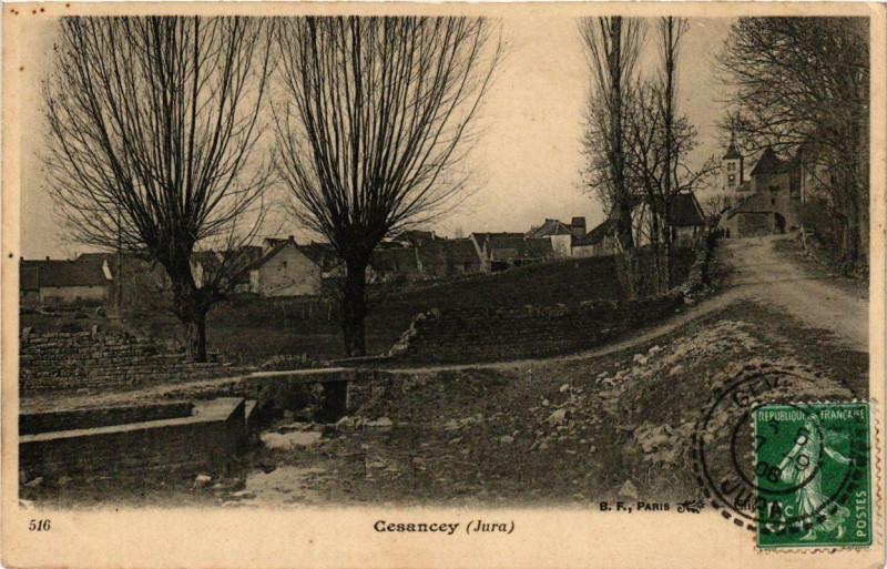 Carte postale ancienne Cesancey à Cesancey