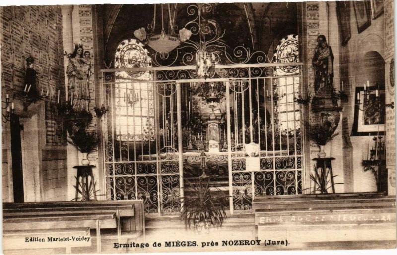 Carte postale ancienne Mieges - Ermitage à Mièges