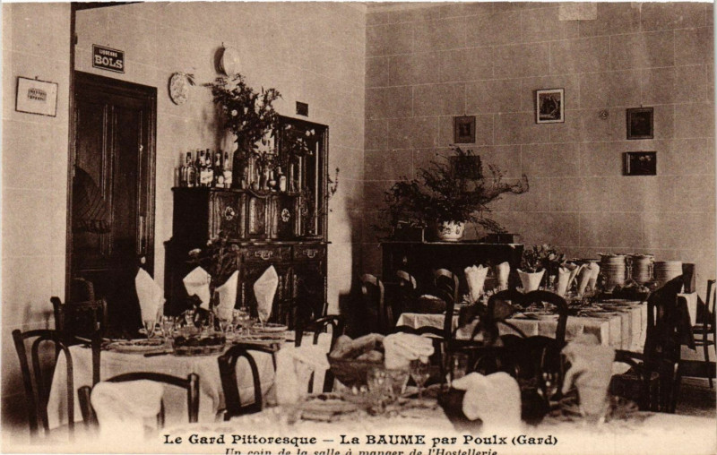 Carte postale ancienne Le Gard Pittoresque - La Baume par Poulx à Poulx