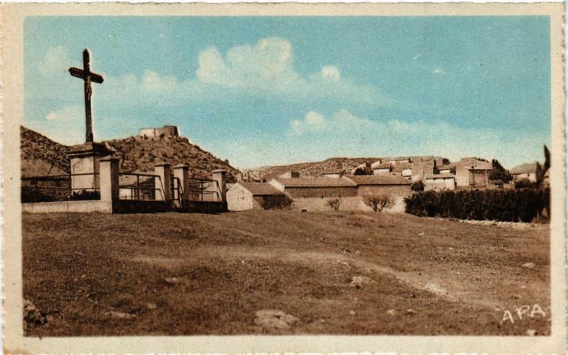 Carte postale ancienne Saint-Victor-la-Coste - Vue générale - Cote Est à Saint-Victor-la-Coste