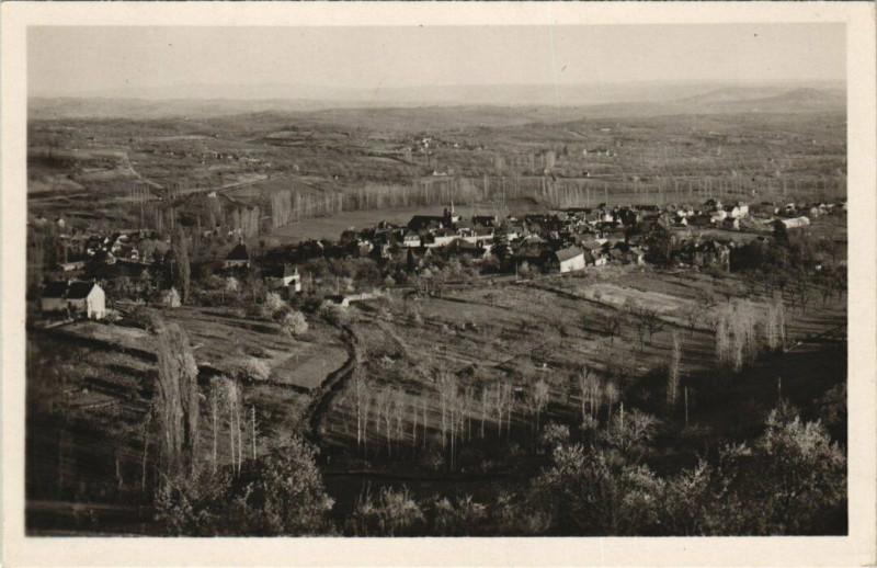 Carte postale ancienne Meyssac vue générale à Meyssac