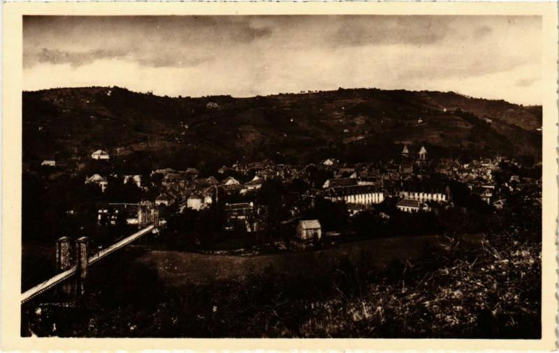 Carte postale ancienne Beaulieu-sur-Dordogne - Vue Generale à Beaulieu-sur-Dordogne