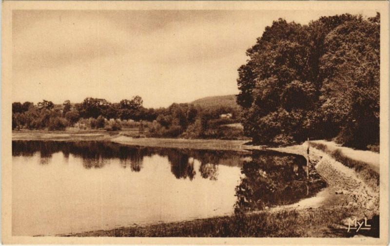 Carte postale ancienne Ambazac Etang de Muret à Ambazac