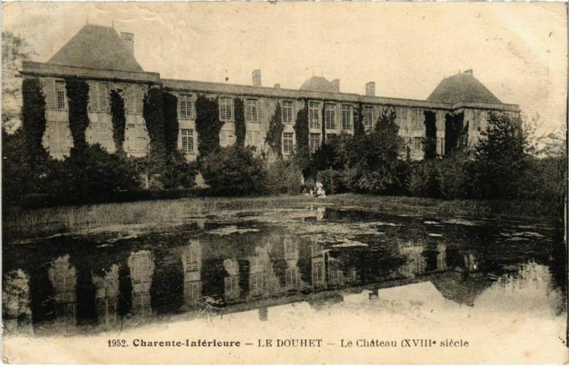 Carte postale ancienne Le Douhet au Douhet