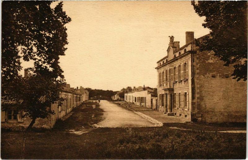 Carte postale ancienne Ile d'Aix - La Maison ou Napoleon ler Passa ses trois dernieres pou à Île-d'Aix