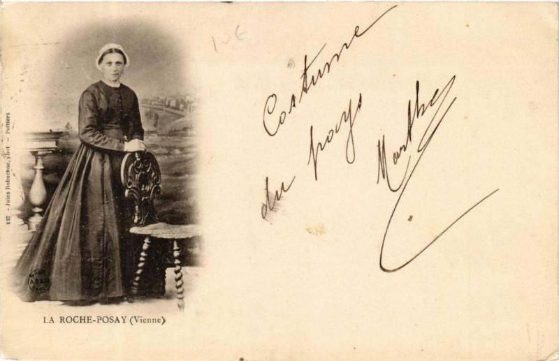 Carte postale ancienne La Roche-Posay à La Roche-Posay