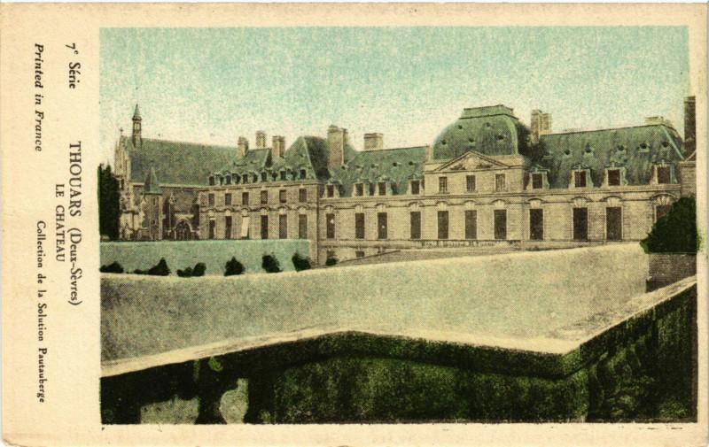 Carte postale ancienne Thouars - Le Chateau à Thouars