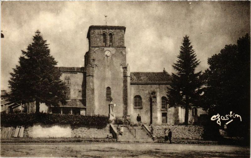 Carte postale ancienne Azay-sur-Thouet (D S.) - L'Eglise (Xvi siecle) à Azay-sur-Thouet
