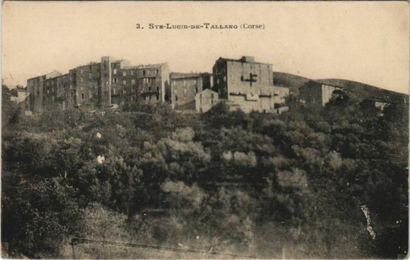 Carte postale ancienne Sainte-Lucie-de-Tallano - Vue - View Corsica - Corse à Sainte-Lucie-de-Tallano